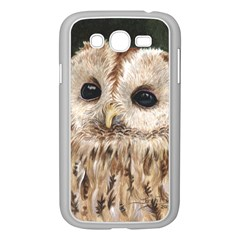 Tawny Owl Samsung Galaxy Grand DUOS I9082 Case (White)