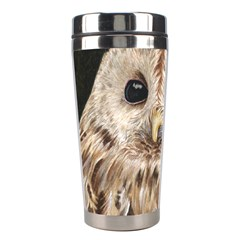 Tawny Owl Stainless Steel Travel Tumbler