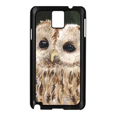 Tawny Owl Samsung Galaxy Note 3 N9005 Case (Black)