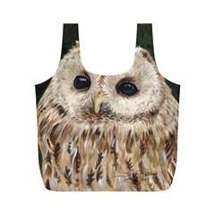 Tawny Owl Reusable Bag (M)