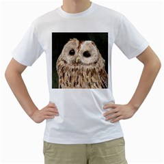 Tawny Owl Men s T-Shirt (White)