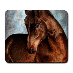 Midnight Jewel  Large Mouse Pad (Rectangle)