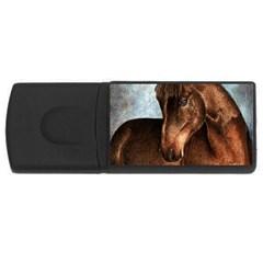 Midnight Jewel  4gb Usb Flash Drive (rectangle)