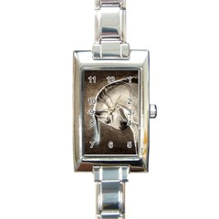 Humble Rectangular Italian Charm Watch