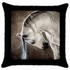Humble Black Throw Pillow Case
