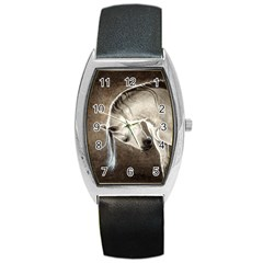 Humble Tonneau Leather Watch