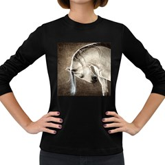 Humble Women s Long Sleeve T-shirt (Dark Colored)