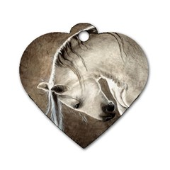 Humble Dog Tag Heart (Two Sided)