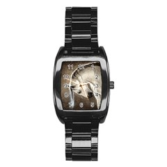 Humble Stainless Steel Barrel Watch