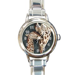 A Mother s Love Round Italian Charm Watch