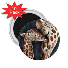 A Mother s Love 2.25  Button Magnet (10 pack)