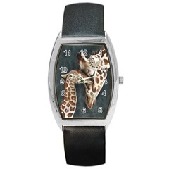 A Mother s Love Tonneau Leather Watch