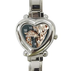 A Mother s Love Heart Italian Charm Watch