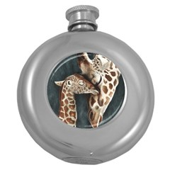 A Mother s Love Hip Flask (Round)