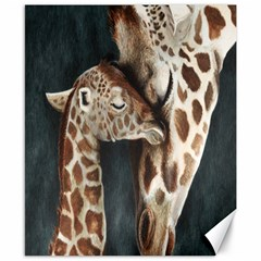 A Mother s Love Canvas 8  x 10  (Unframed)