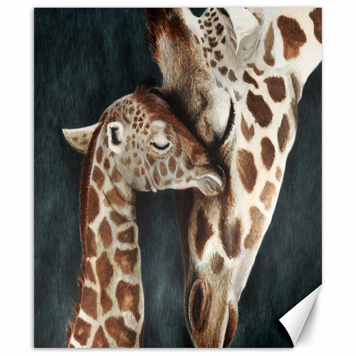 A Mother s Love Canvas 20  x 24  (Unframed)