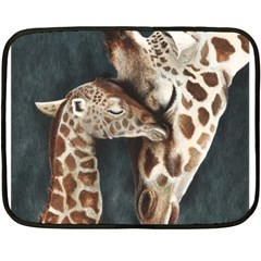A Mother s Love Mini Fleece Blanket (Two Sided)