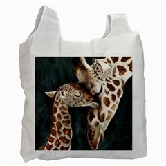 A Mother s Love White Reusable Bag (Two Sides)