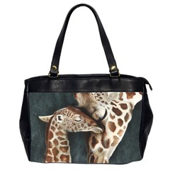 A Mother s Love Oversize Office Handbag (Two Sides)