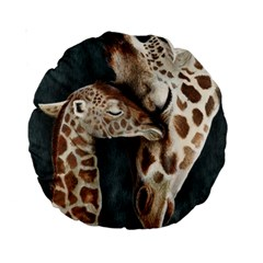 A Mother s Love 15  Premium Round Cushion