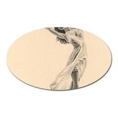 Graceful Dancer Magnet (Oval)