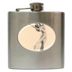 Graceful Dancer Hip Flask