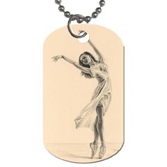 Graceful Dancer Dog Tag (Two-sided)