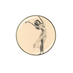 Graceful Dancer Golf Ball Marker (for Hat Clip)