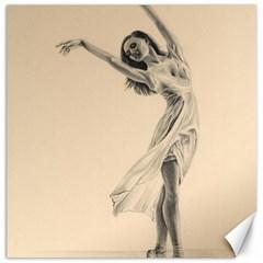 Graceful Dancer Canvas 16  x 16  (Unframed)