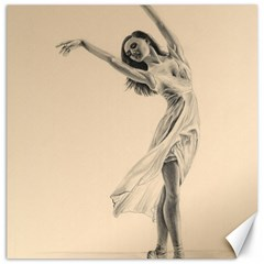 Graceful Dancer Canvas 20  x 20  (Unframed)