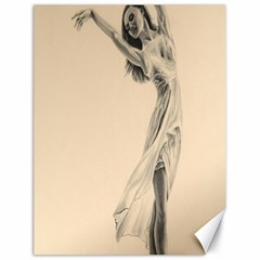 Graceful Dancer Canvas 18  x 24  (Unframed)