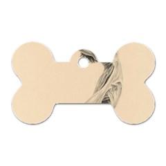 Graceful Dancer Dog Tag Bone (One Sided)