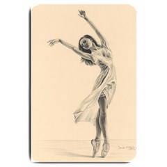 Graceful Dancer Large Door Mat