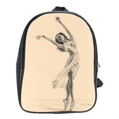 Graceful Dancer School Bag (Large)
