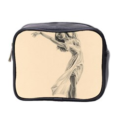 Graceful Dancer Mini Travel Toiletry Bag (two Sides)