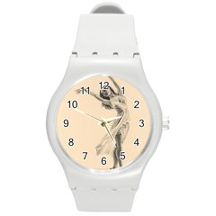Graceful Dancer Plastic Sport Watch (Medium)