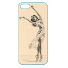 Graceful Dancer Apple Seamless iPhone 5 Case (Color)