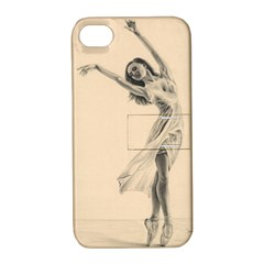 Graceful Dancer Apple iPhone 4/4S Hardshell Case with Stand