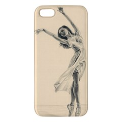 Graceful Dancer iPhone 5S Premium Hardshell Case