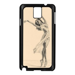 Graceful Dancer Samsung Galaxy Note 3 N9005 Case (black)