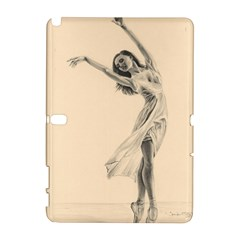 Graceful Dancer Samsung Galaxy Note 10.1 (P600) Hardshell Case