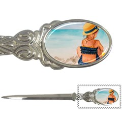 A Day At The Beach Letter Opener
