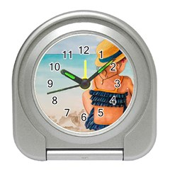 A Day At The Beach Desk Alarm Clock