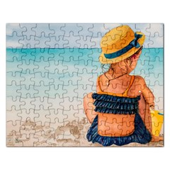 A Day At The Beach Jigsaw Puzzle (Rectangle)