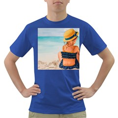 A Day At The Beach Men s T-shirt (Colored)