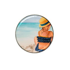 A Day At The Beach Golf Ball Marker 4 Pack (for Hat Clip)