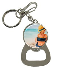 A Day At The Beach Bottle Opener Key Chain