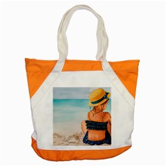 A Day At The Beach Accent Tote Bag