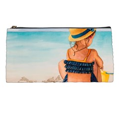 A Day At The Beach Pencil Case