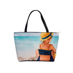A Day At The Beach Large Shoulder Bag